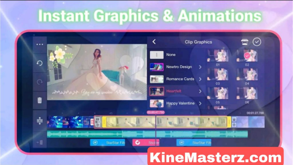 Kinemaster Pro APK Features